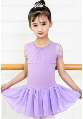 Ballet Girls Leotard Dress 02