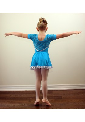 Ballet Girls Leotard Dress Performance Costume