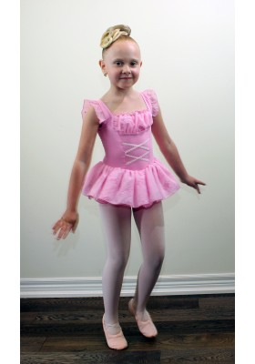 Ballet Girls Leotard Dress 11