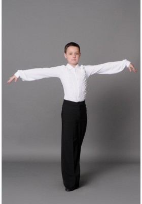Boys Men's Ballroom Dress Shirt 03