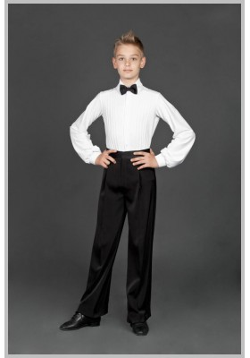 Boys Men's Ballroom Dress Shirt 04