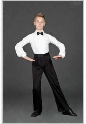 Boys Men's Ballroom Dress Shirt 06