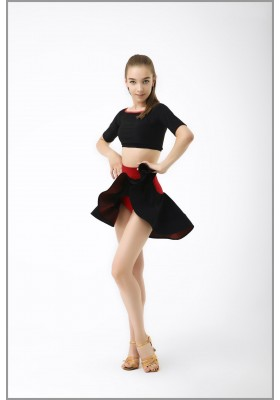 Women's Latin Top & Skirt set 02