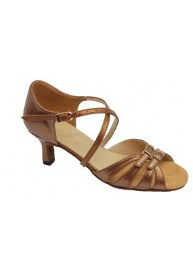Women / Youth Low Heels Dance Shoes - Leather - Heel 2